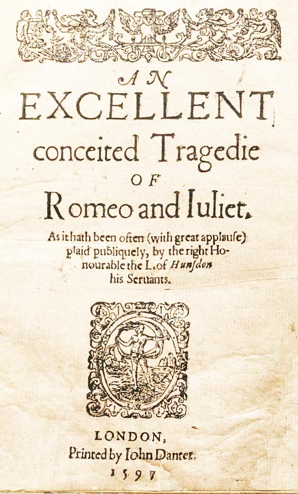 an analysis of the publications of romeo and juliet a play by william shakespeare One of shakespeare's most iconic plays, romeo and juliet is the tale of young love gone horribly wrong, as a combination of the lovers' warring families, outside events and their own rashness.