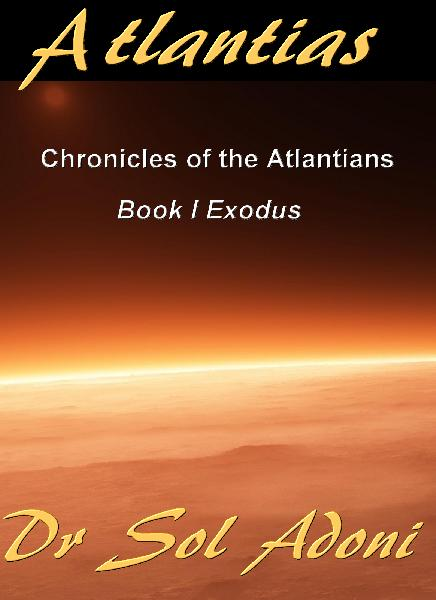 Atlantias Chronicles of the Atlantians Book I Book Cover