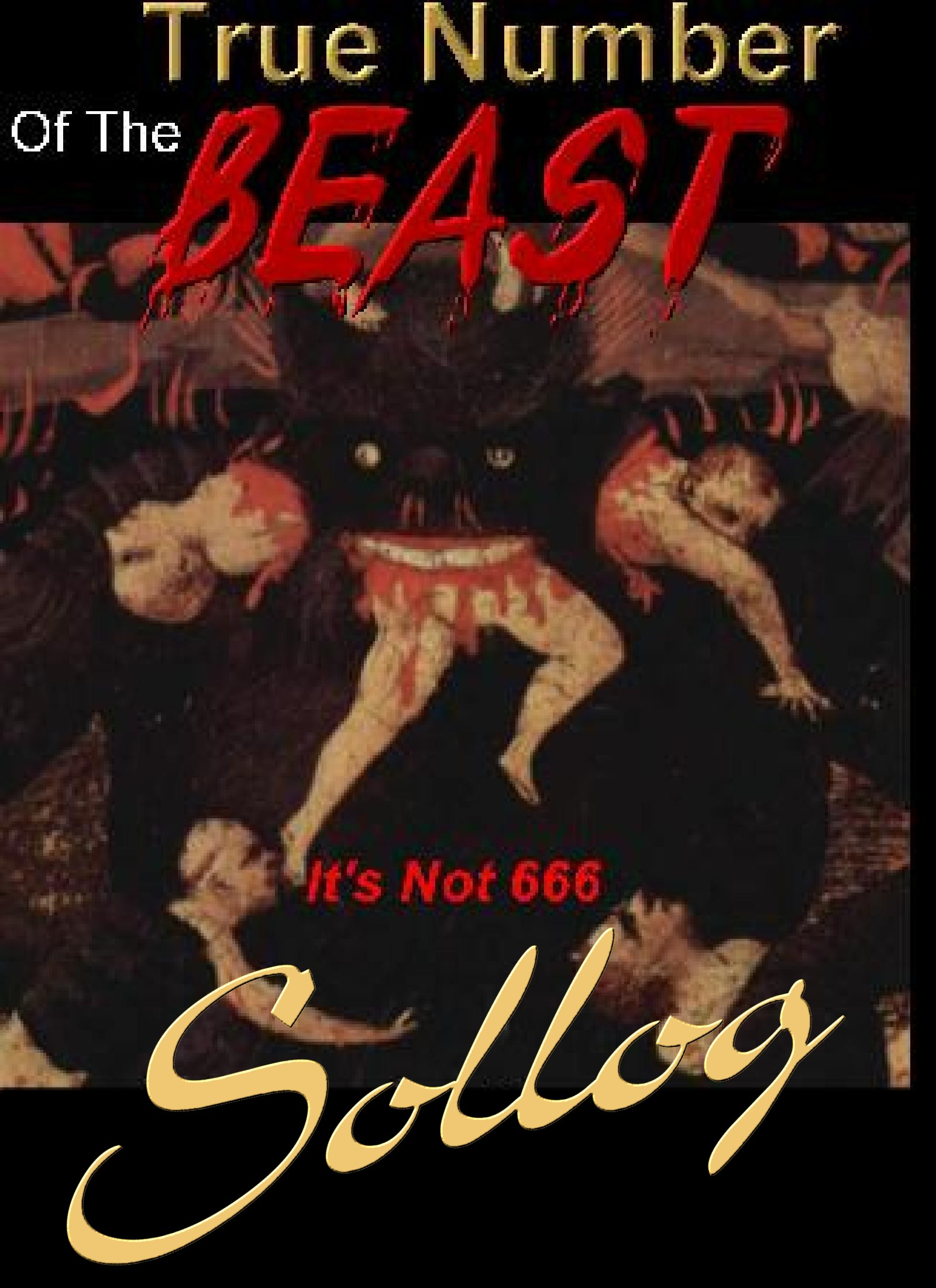 True Number of the Beast 666 or 616? Book Cover